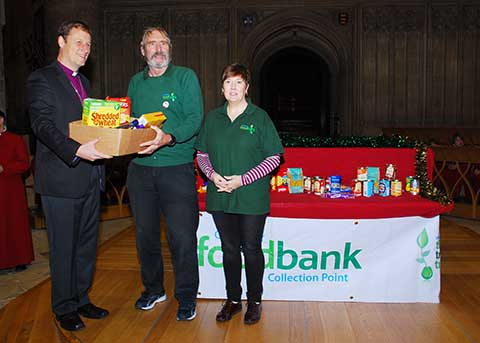 Cathedral Now Drop Off Point For Foodbank News