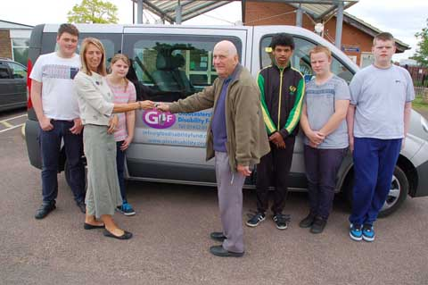 Disability Fund Provides School With Much Needed Transport News